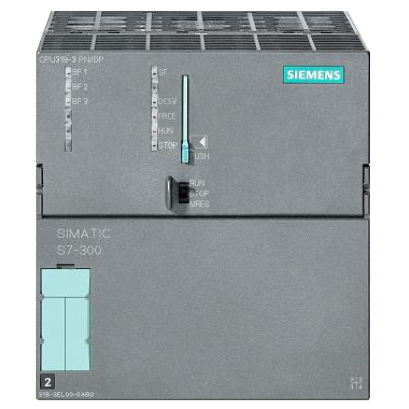 sale siemens 6es7318 3el01 0ab0 simatic s7 300 cpu319 3 pn dp 1 year warranty. Black Bedroom Furniture Sets. Home Design Ideas